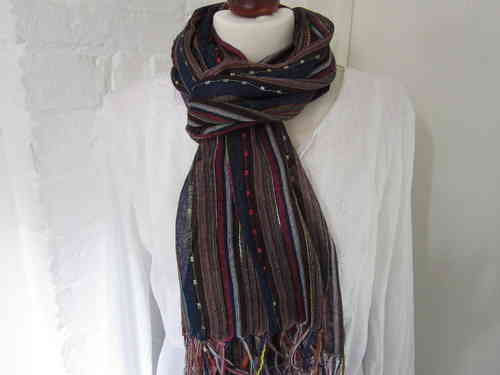 Knotted Scarf- Brown