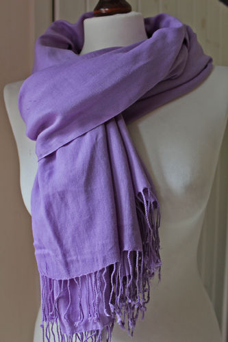 Large Lilac Scarf