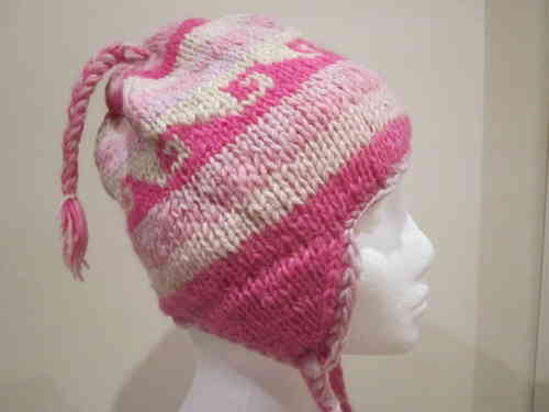 Knitted Pink Hat