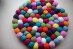 Felted Ball Hotpad