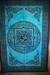 Om Wall Hanging or Throw - Double- Various Colours
