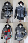 Fleece lined knitted jacket - L
