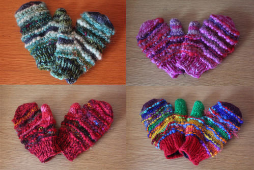 Children's Mittens - Various colours