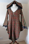 Brown Paisley Cashmelon Coat -XXL