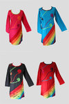 Rainbow Dress - Various Colours