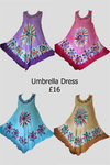 Umbrella Dress - Various Colours