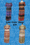 Gypsy Dress - Various colours
