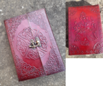 Leather Journal - Celtic/Ganesh